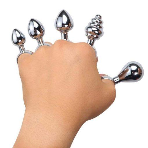 plug anal bague main