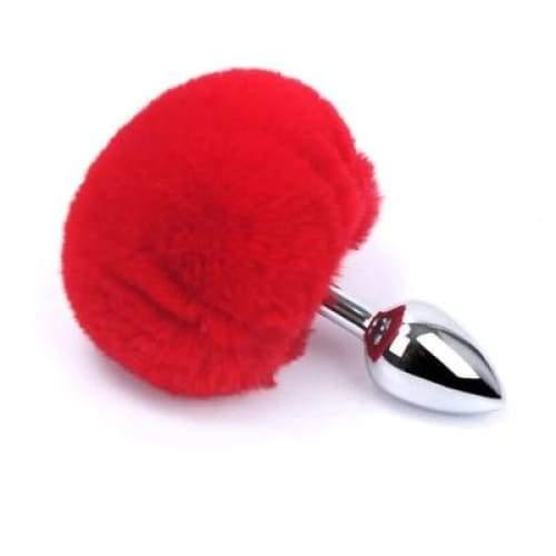 Plug Anal Queue de Lapin Rouge