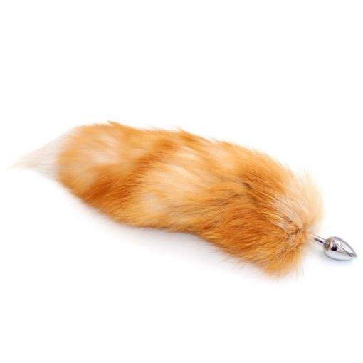 plug queue de renard roux