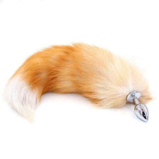 plug queue de renard roux sexshop