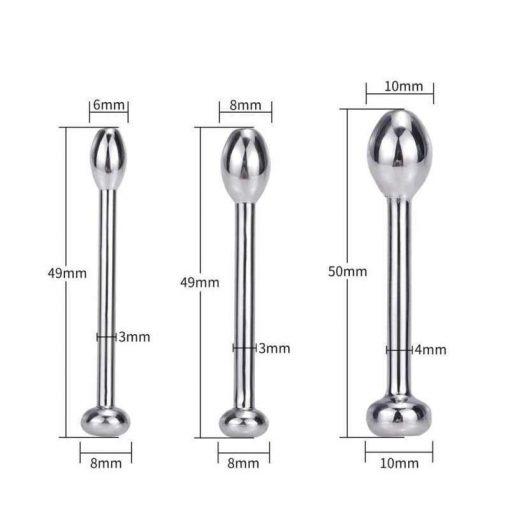plug perles uretre dimensions