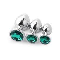 Plug Anal Diamant eméraldine