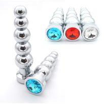 plug anal diamant chapelet