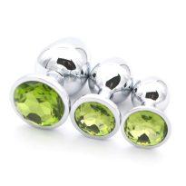 plug anal diamant vert olivine